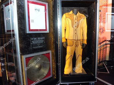 Editorial image of Hard Rock International Music Memorabilia Tour, New York, USA