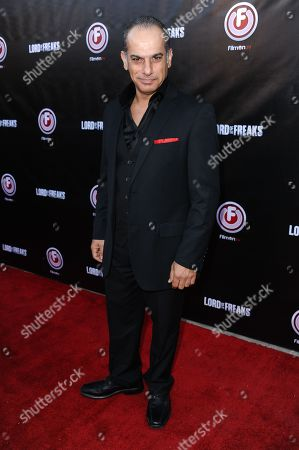 """Said Faraj arrives at the LA Premiere of """"Lord of the Freaks"""" on in Los Angeles"""