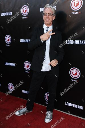 """Andy Dick arrives at the LA Premiere of """"Lord of the Freaks"""" on in Los Angeles"""