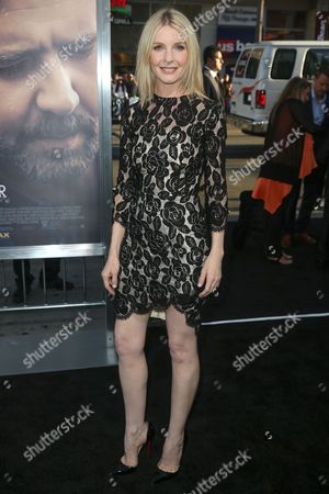 """Jacqueline McKenzie arrives at the LA Premiere of """"The Water Diviner"""" at TCL Chinese Theatre, in Los Angeles"""