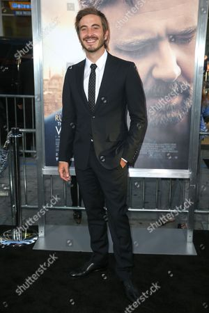"Ryan Corr arrives at the LA Premiere of ""The Water Diviner"" at TCL Chinese Theatre, in Los Angeles"