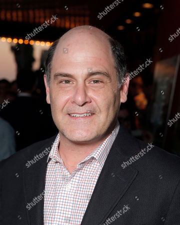 Matt Weiner attends the premiere of RADIUS-TWC's 'The One I Love' at the Vista Theatre on in Los Angeles