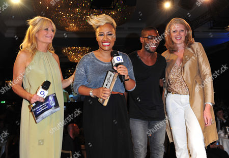 Gaby Roslin, Emile Sande, Tiny Tempah arrives at the Nordoff Robbins 02 Silver Clef Awards at London Hilton, on in London