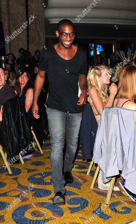 Tiny Tempah arrives at the Nordoff Robbins 02 Silver Clef Awards at London Hilton, on in London