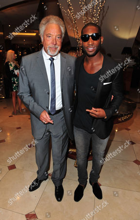 Tom Jones and Tiny Tempah arrives at the Nordoff Robbins 02 Silver Clef Awards at London Hilton, on in London