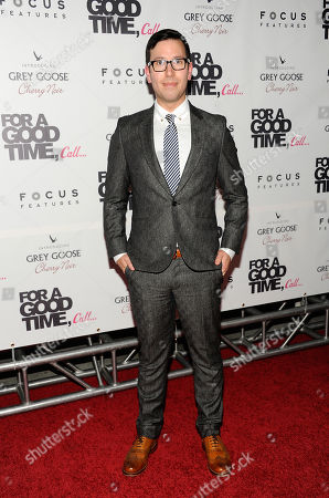 """Director Jamie Travis attends a special screening of """"For A Good Time Call"""" at Regal Union Square Theaters on in New York"""