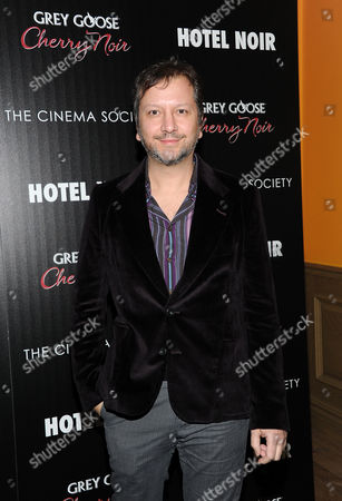 "Writer and director Sebastian Gutierrez attends a special screening of ""Hotel Noir"" hosted by Gato Negro Films and The Cinema Society on in New York"