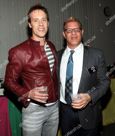 """Stock Picture of From left, actor Sean Hemeon and Casting Directors Peer Group Governor Howard Meltzer attend the Academy of Television Arts & Sciences Presents 10 Years After """"The Prime Time Closet - A History Of Gays And Lesbians On TV,"""",, at the Leonard H. Goldenson Theatre in North Hollywood, Calif"""