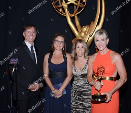 Editorial photo of Television Academy's 2014 Creative Arts Emmy Awards - Thank You Cam, Los Angeles, USA