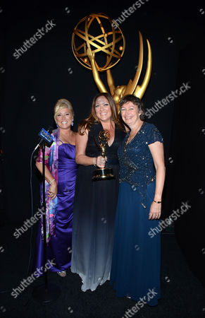 Editorial picture of Television Academy's 2014 Creative Arts Emmy Awards - Thank You Cam, Los Angeles, USA