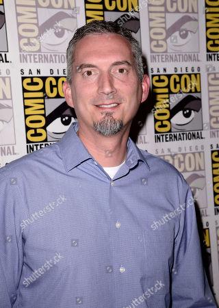 James Dashner seen at the Twentieth Century Fox Presentation at 2015 Comic Con, in San Diego
