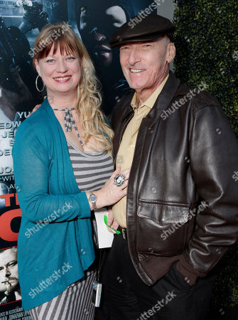"""Actor Ed Lauter (right) and wife Mia Lauter arrive at the world premiere of """"For the Love of Money"""" on in Los Angeles"""