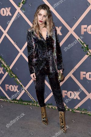 Lauren German attends the 2017 Fox Fall Party at Catch LA, in West Hollywood, Calif