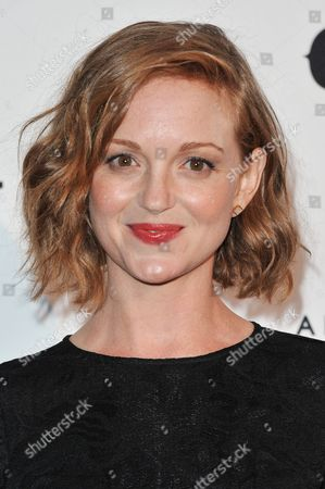 """Jayma Mays arrives at the """"Country: Portraits Of An American Sound"""" Exhibition held at the Annenberg Space for Photography, in Los Angeles"""