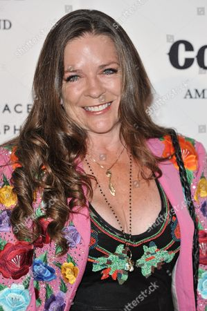 """Carlene Carter arrives at the """"Country: Portraits Of An American Sound"""" Exhibition held at the Annenberg Space for Photography, in Los Angeles"""