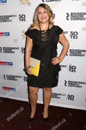 "Stock Photo of Lindsey Ferrentino attends the Broadway opening night for ""Therese Raquin"" at Studio 54, in New York"