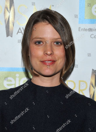 Stock Image of Actress Audrey Marie Anderson arrives at the 17th Annual Prism Awards Ceremony at The Beverly Hills Hotel, in Beverly Hills, Calif