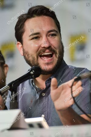 "Wil Wheaton speaks onstage during the ""The Big Bang Theory"" panel on Day 2 of Comic-Con, in San Diego"