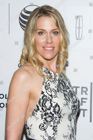 """Rachel Whitman Groves attends the Tribeca Film Festival world premiere of """"Maggie"""" at BMCC Tribeca Performing Arts Center, in New York"""