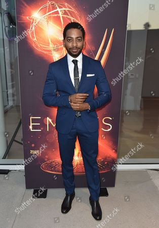 Shaun Brown attends the Dynamic & Diverse Nominee Reception presented by the Television Academy and SAG-AFTRA at the Academy's Saban Media Center, in the NoHo Arts District in Los Angeles