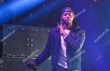 PARTYNEXTDOOR, a.k.a. Jahron Brathwaite, performs at the FADER FORT Presented by Converse during the South by Southwest Music Festival, in Austin, Texas