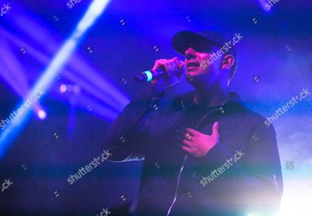 Majid Jordan's Majid Al Maskati performs at the FADER FORT Presented by Converse during the South by Southwest Music Festival, in Austin, Texas