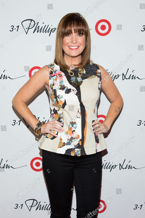 Dustee Jenkins arrives at the 3.1 Phillip Lim for Target launch event at Spring Studio on in New York