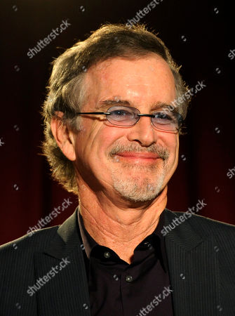 """Garry Trudeau, creator and executive producer of the Amazon Studios original series """"Alpha House,"""" takes part in a panel discussion on the show at the Amazon Studios at the Television Academy event on in Los Angeles"""