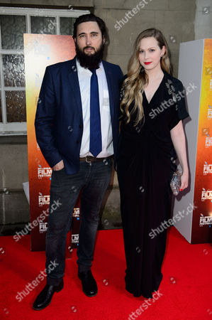 Julius Avery and Madeleine Parker arrive for the London Film Festival Awards Ceremony, at a central London venue, London