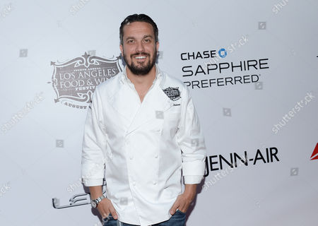 Chef Fabio Viviani at the Ultimate Bites of L.A. presented by Chase Sapphire Preferred, at the Los Angeles Food & Wine Festival, presented by FOOD & WINE, on in Los Angeles