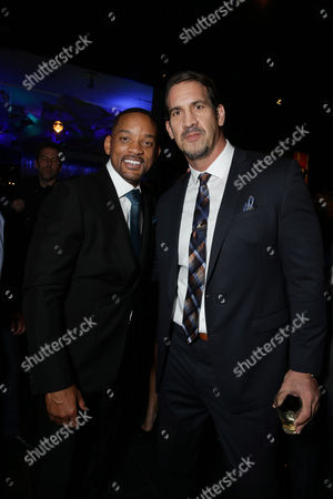 Editorial image of Columbia Pictures Special screening of 'Concussion', Los Angeles, USA