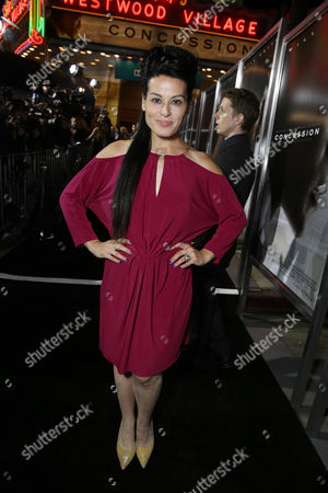 Stock Picture of Alexis Iacono seen at Columbia Pictures Special screening of 'Concussion' at Regency Village Theatre, in Los Angeles, CA