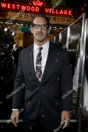 Stock Picture of Matt Willig seen at Columbia Pictures Special screening of 'Concussion' at Regency Village Theatre, in Los Angeles, CA