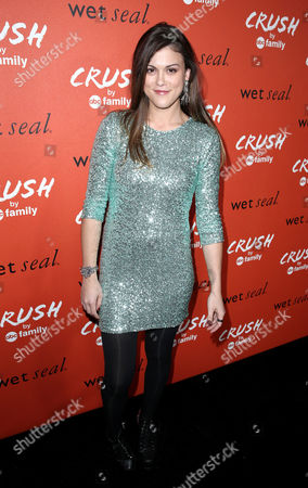 "Actress Lindsey Shaw arrives at the ""Crush by ABC Family"" collection launch party hosted ABC Family and Wet Seal at The London hotel in West Hollywood, Calif. on"