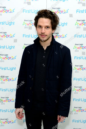 Damien Molony seen at the First Light Awards at the Odeon Leicester Square in London on
