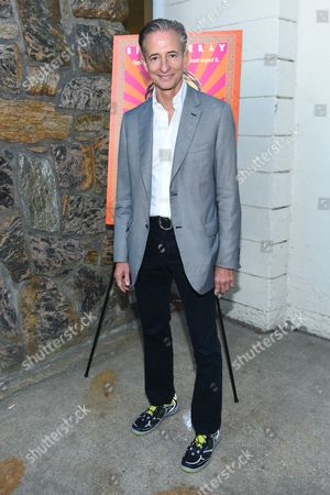 "Producer Bill Block arrives at the Hamptons Sneak Screening of Open Road Films' ""Rock the Kasbah"" on in East Hampton, N.Y"