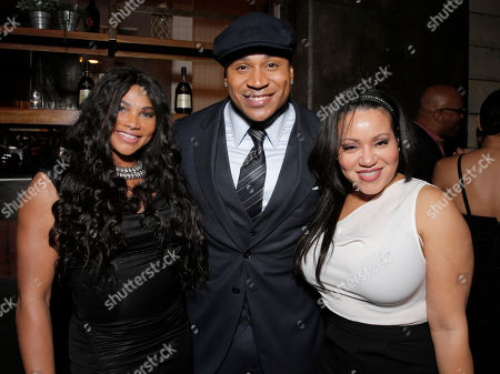 Sandy Denton, LL Cool J and Cheryl James attend a private dinner hosted by Hennessy V.S.O.P Privilege and LL COOL J at Hinoki and the Bird in celebration of Music's Biggest Night on Saturday, February 7, in Los Angeles