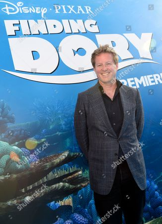 "Writer/director Andrew Stanton arrives at the premiere of ""Finding Dory"" at the El Capitan Theatre, in Los Angeles"