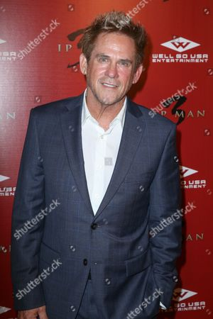 """Stock Photo of Michael Dudikoff arrives at the Premiere of """"Ip Man 3"""" at Pacific Theatres at The Grove, in Los Angeles"""