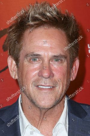 """Michael Dudikoff arrives at the Premiere of """"Ip Man 3"""" at Pacific Theatres at The Grove, in Los Angeles"""