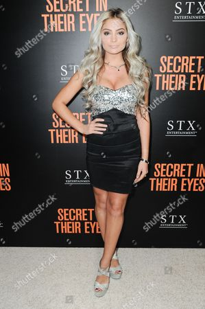 """Carrington Durham attends the LA Premiere of """"Secret In Their Eyes"""" held at the Hammer Museum, in Los Angeles"""