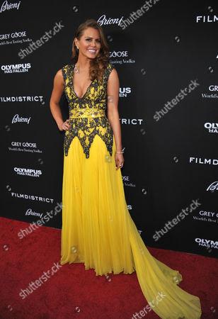 Editorial photo of LA Premiere of Olympus Has Fallen, Los Angeles, USA