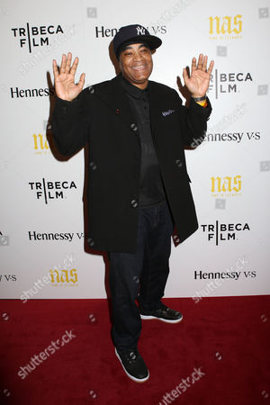 """Stock Picture of DJ Marley Marl attends the premiere of """"Nas: Time Is Illmatic"""" at the Museum of Modern Art on in New York"""