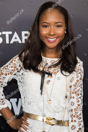 "Donshea Hopkins attends the season three premiere of the STARZ drama ""Power"" at the SVA Theatre, in New York"