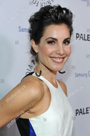 Carly Pope attends The Paley Center for Media presentation of their Inaugural PaleyFest Icon Award to Ryan Murphy, hosted by Samsung Galaxy at The Paley Center for Media on in Beverly Hills, California