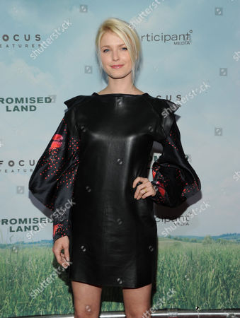 """Whitney Able attends the premiere of """"Promised Land"""" at AMC Loews Lincoln Square on in New York"""