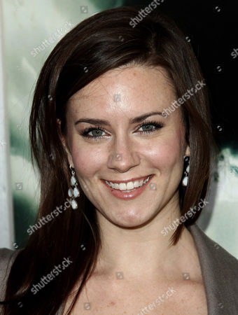 "Katie Featherston arrives at the premiere of ""Chernobyl Diaries"" on in Los Angeles"