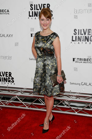 "Stock Photo of Actress Brea Bee attends the premiere of ""Silver Linings Playbook"", to benefit the Tribeca Film Institute's Tribeca Teaches Educational Programs, at the Ziegfeld Theatre on in New York"