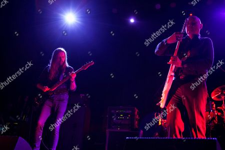 Mark Stoermer of The Killers performs with Billy Corgan as part of the special new line-up of the Smashing Pumpkins at Thalia Hall on in Chicago