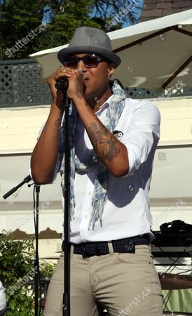 """Jamar Rogers performs at Robi Reed's 10th Annual """"Sunshine Beyond Summer"""" Celebration - The Day Party with a Purpose at the Getty House, in Los Angeles"""